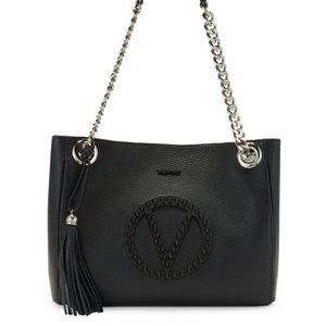 Valentino Black Studded Spikes Purse Bag  NWT